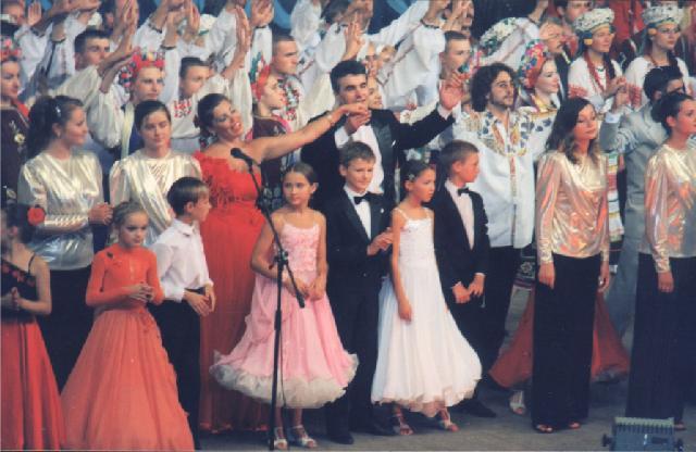 """Творчий звіт Вінниччини у Національному палаці мистецтв """"Україна"""""""