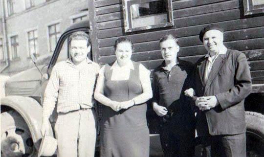 Ф.Шевчук (зліва), Г.Ланда, М.Кравченко (справа)