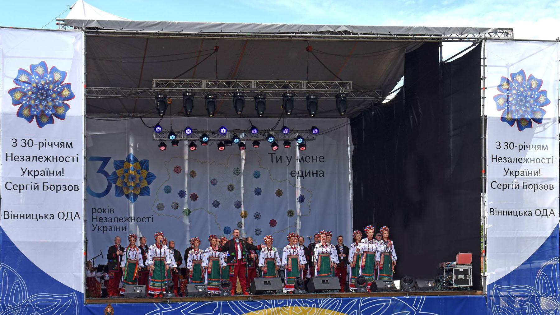 Ансамбль ПОДІЛЛЯ на фестивалі Гната Танцюри